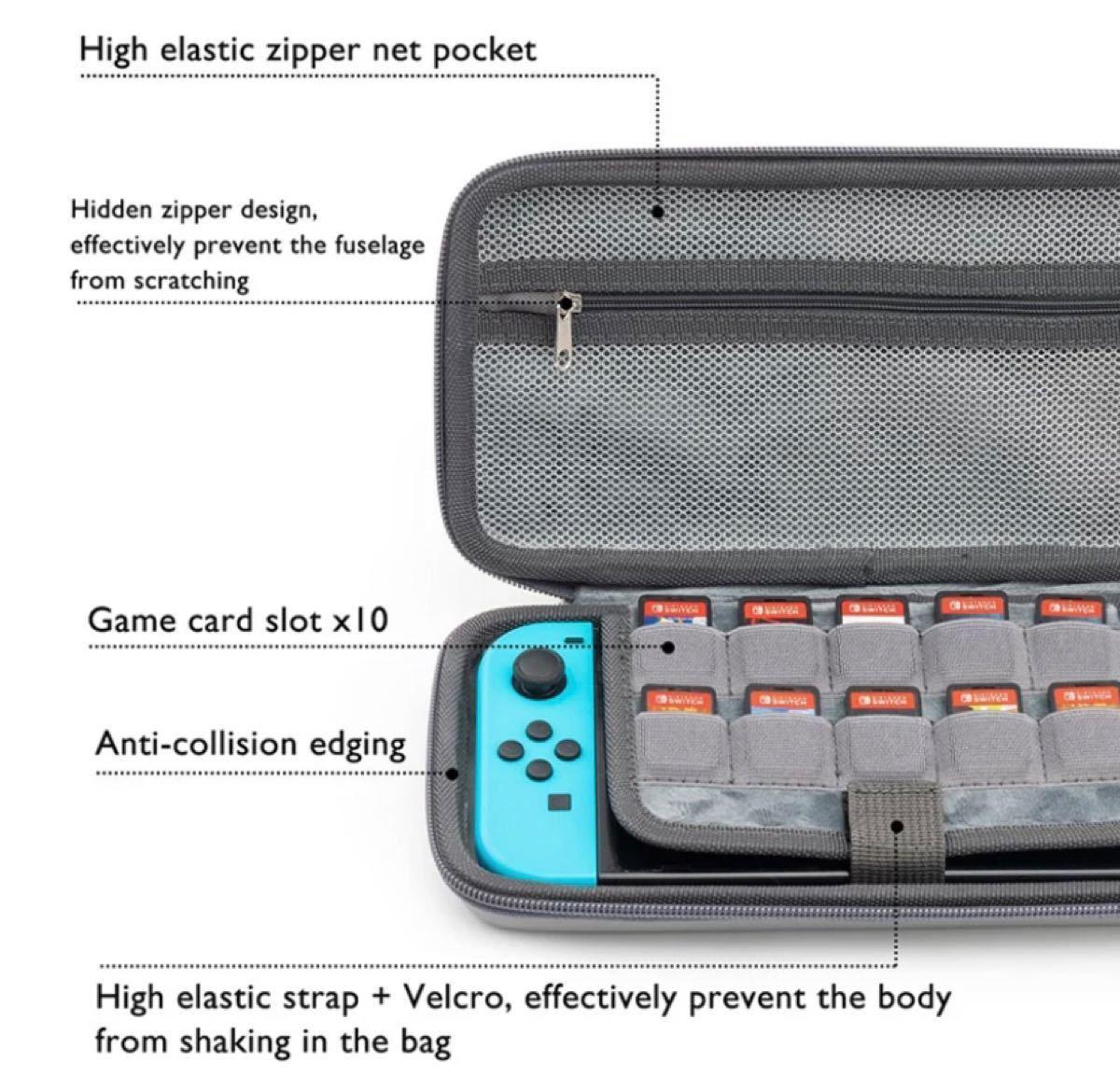 Nintendo Switch スイッチ ケース カバー Geekshare