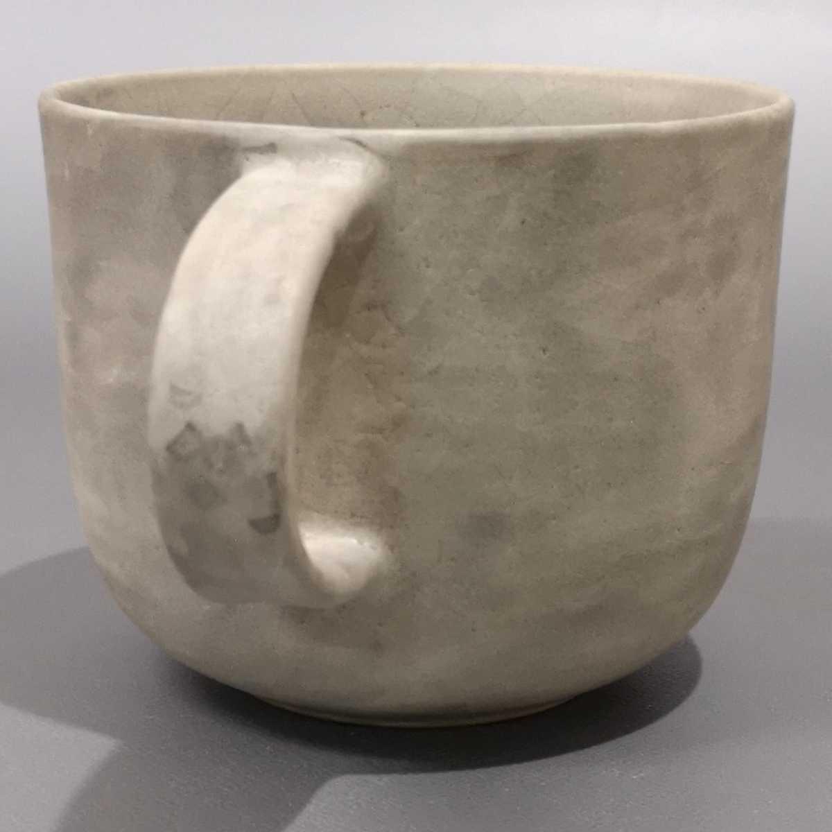 叶46)萩焼 コーヒーカップ マグカップ 珈琲器 未使用新品 同梱歓迎_画像2