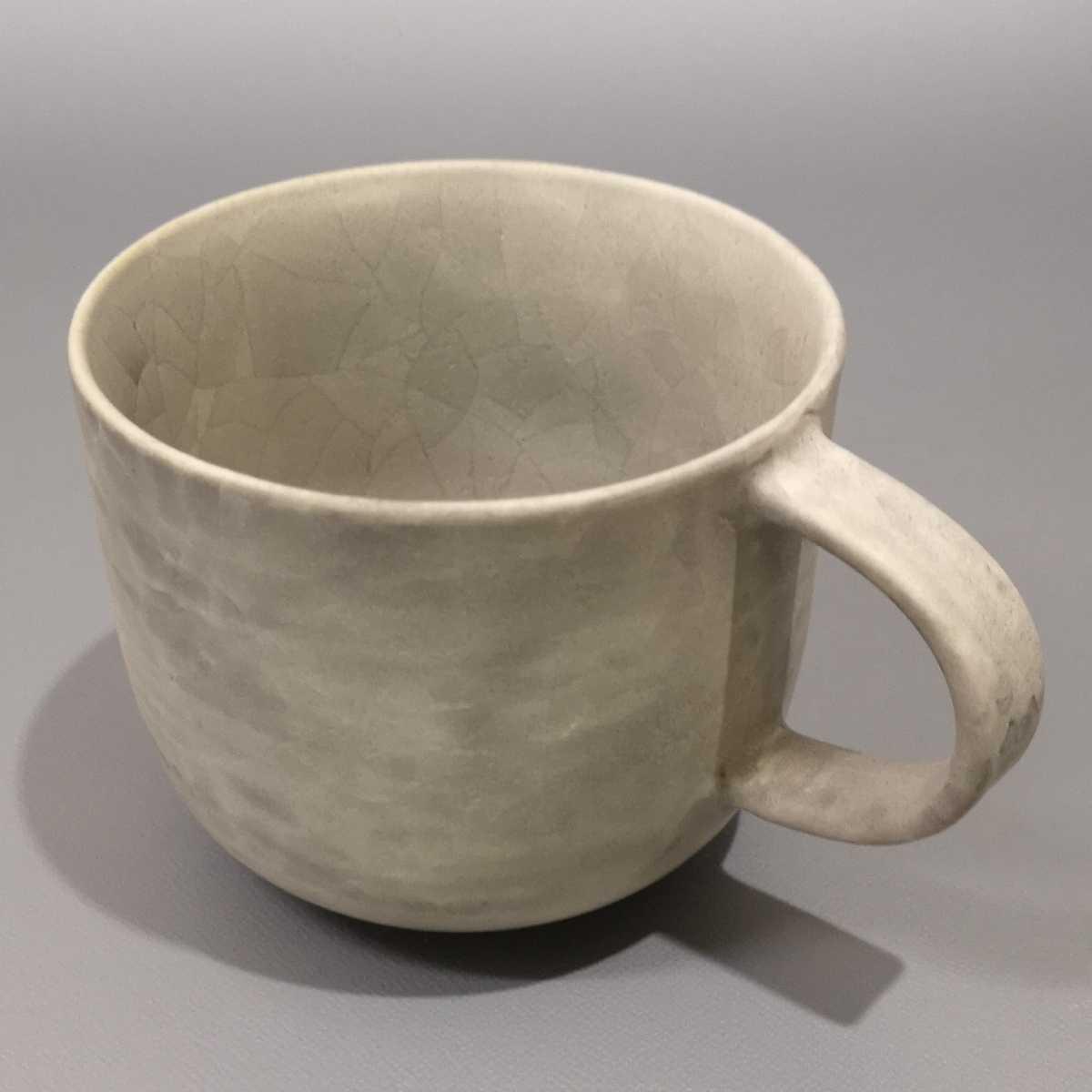 叶46)萩焼 コーヒーカップ マグカップ 珈琲器 未使用新品 同梱歓迎_画像8