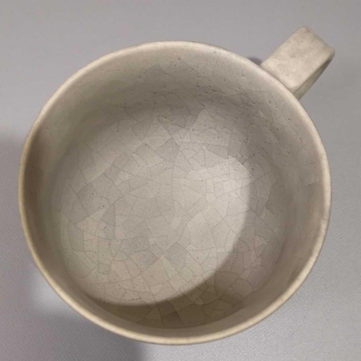 叶46)萩焼 コーヒーカップ マグカップ 珈琲器 未使用新品 同梱歓迎_画像4