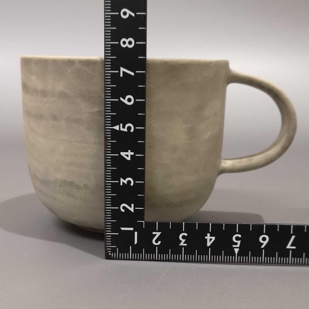 叶46)萩焼 コーヒーカップ マグカップ 珈琲器 未使用新品 同梱歓迎_画像6