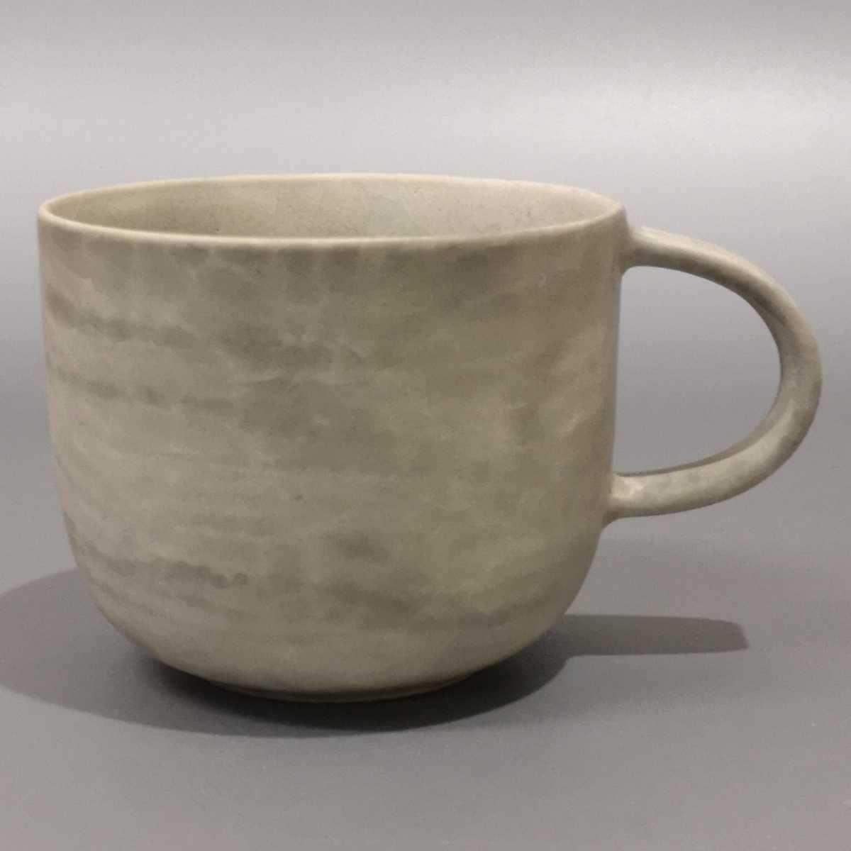 叶46)萩焼 コーヒーカップ マグカップ 珈琲器 未使用新品 同梱歓迎_画像1