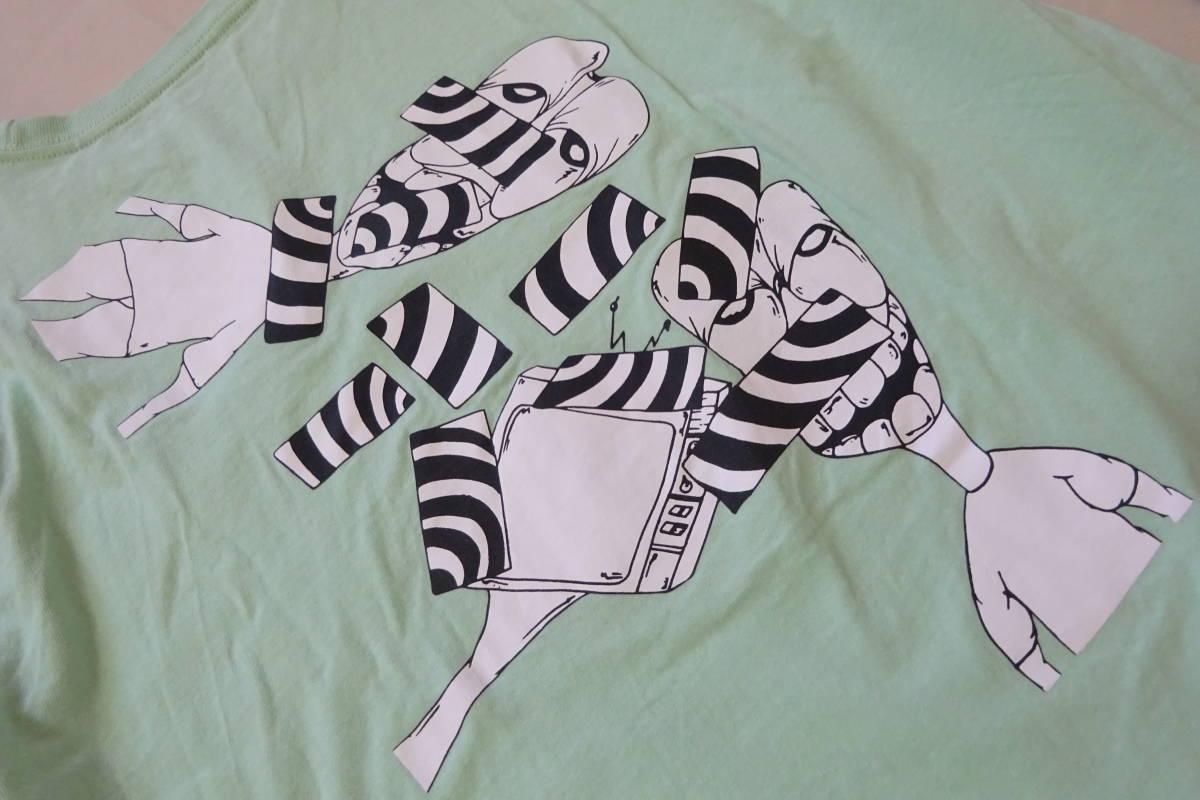 ⑥ クロムハーツ マッティボーイ 長袖 Tシャツ L 175/104B ライトグリーン MATTY BOY レア ロンT レア_画像9