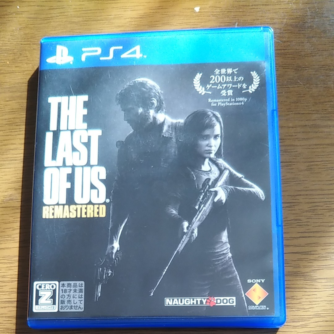 THE LAST OF US ラストオブアス PS4ソフト