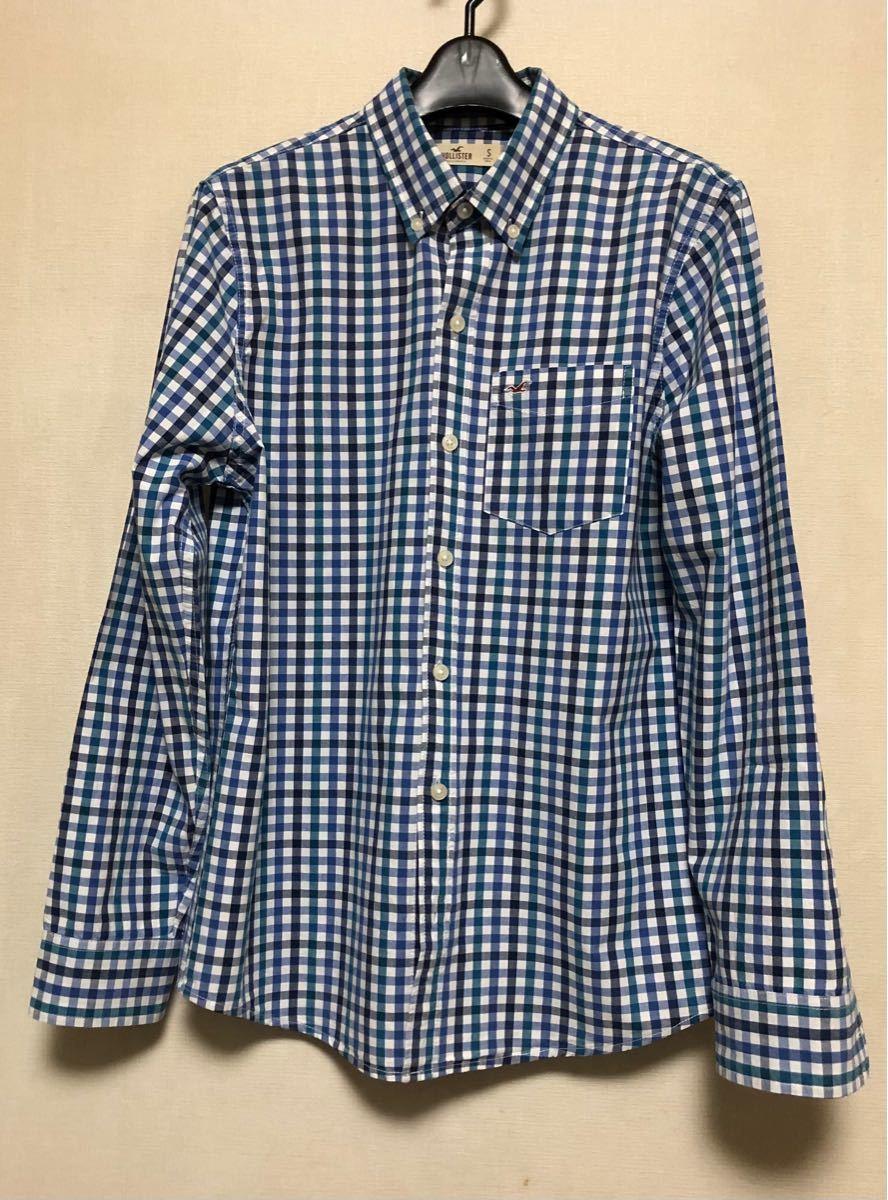 ● HOLLISTER  長袖シャツ ボタンダウンシャツ チェック柄