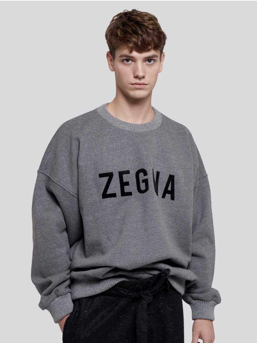 fear of god Ermenegildo Zegna スウェット サイズM グレー fog essentials ゼニア