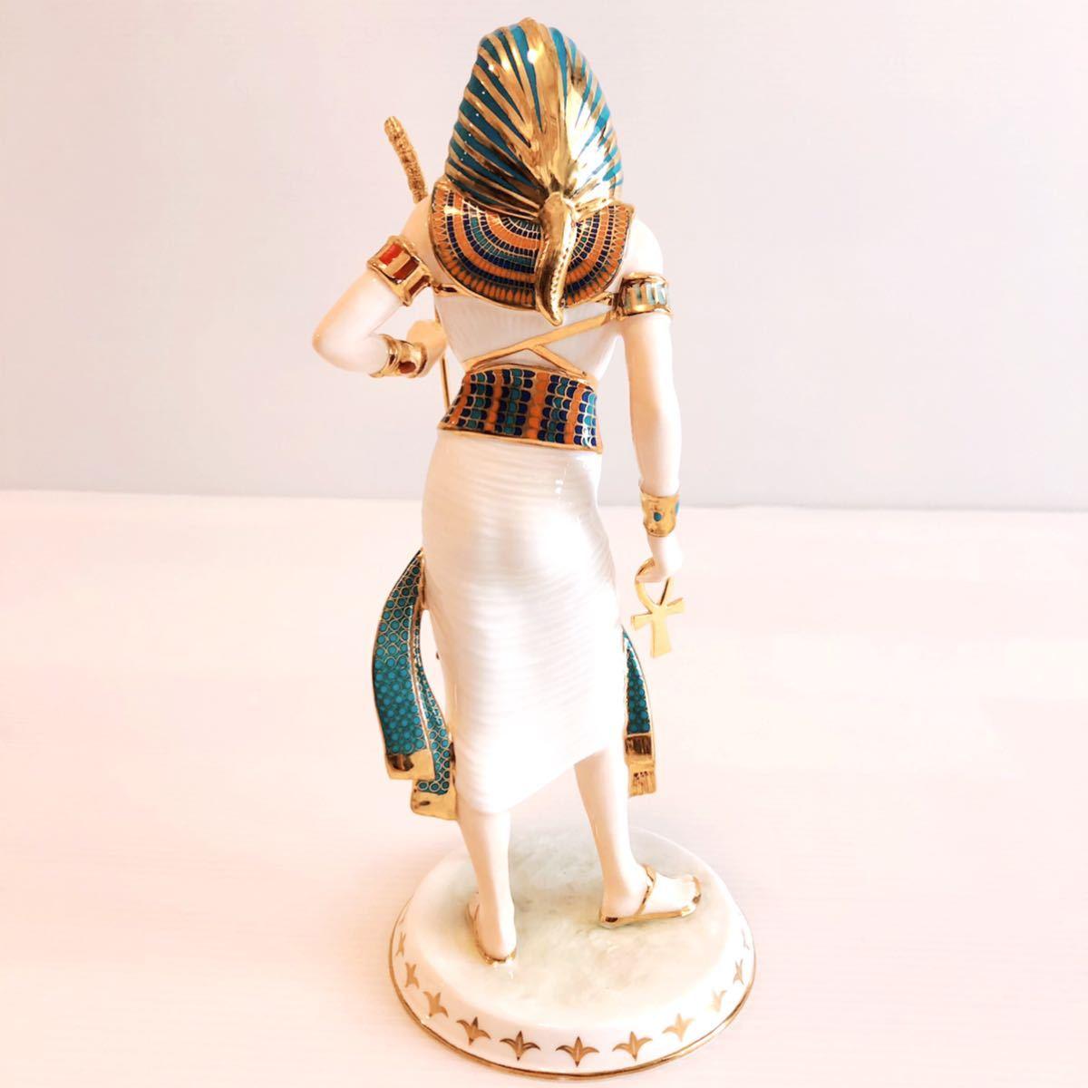 【貴重】WEDGWOOD/ツタンカーメン/The Boy King/Tutankhamun/ウェッジウッド/激レア/英国製/イギリス/置物 /限定品/陶器人形/フィギュア_画像4