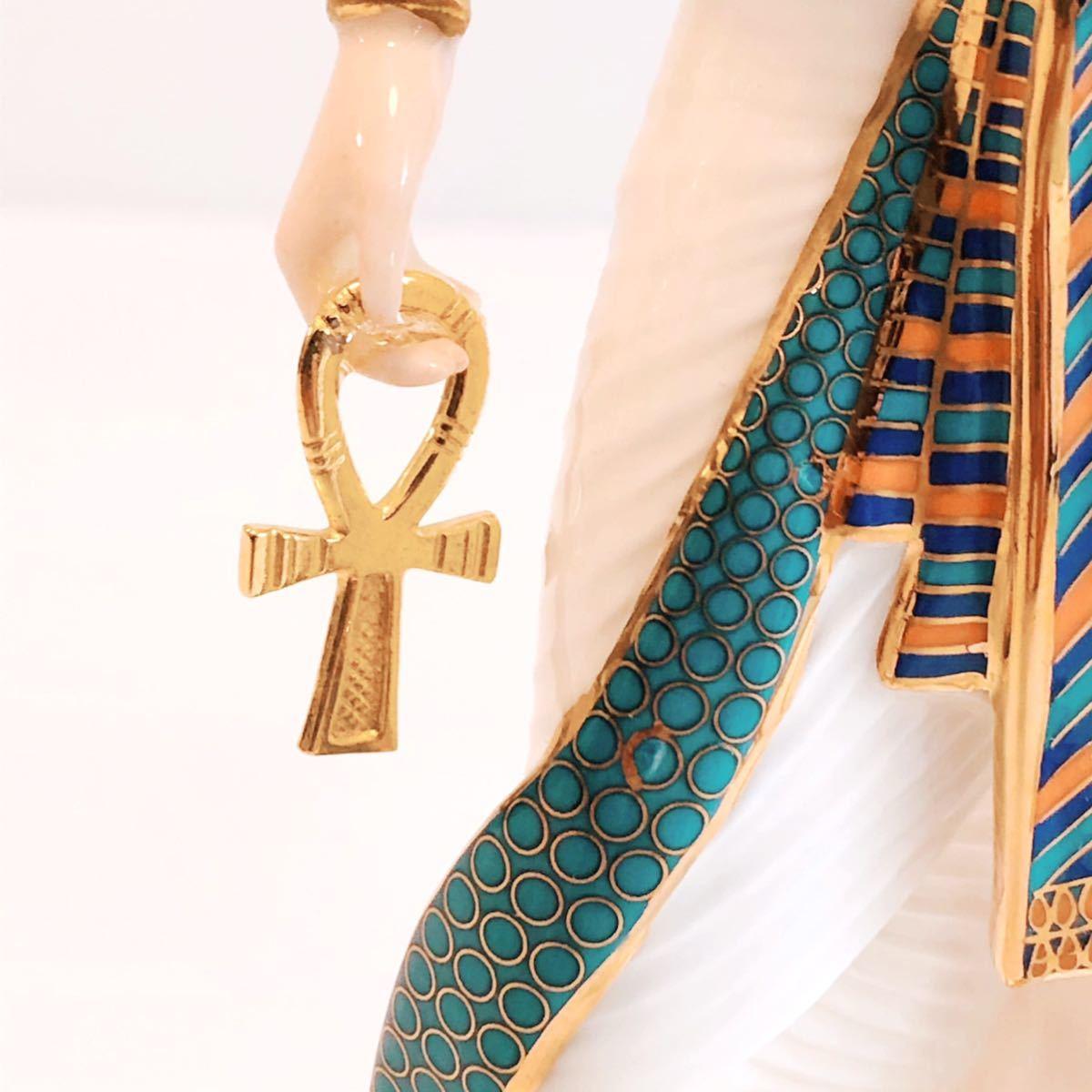 【貴重】WEDGWOOD/ツタンカーメン/The Boy King/Tutankhamun/ウェッジウッド/激レア/英国製/イギリス/置物 /限定品/陶器人形/フィギュア_画像8