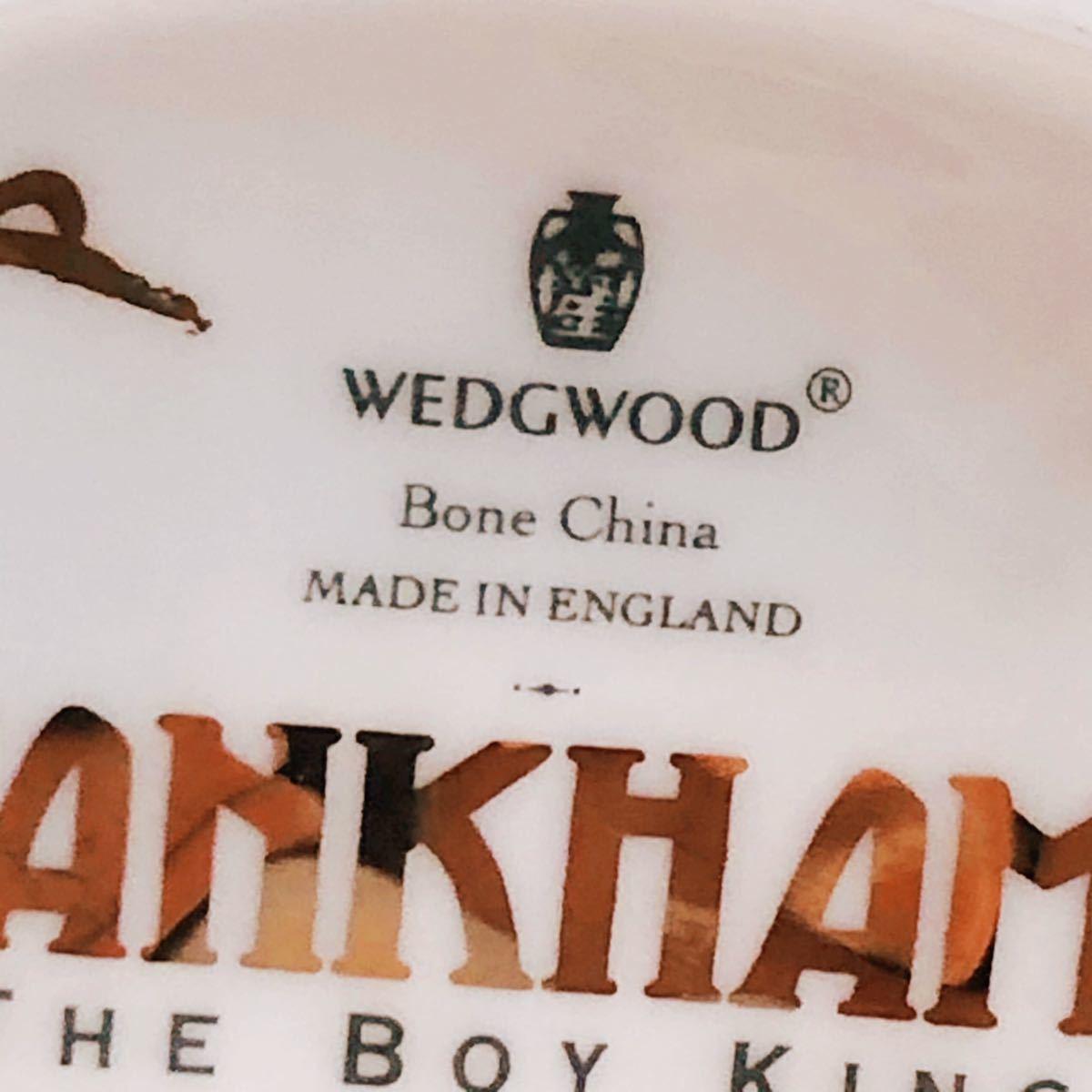 【貴重】WEDGWOOD/ツタンカーメン/The Boy King/Tutankhamun/ウェッジウッド/激レア/英国製/イギリス/置物 /限定品/陶器人形/フィギュア_画像10