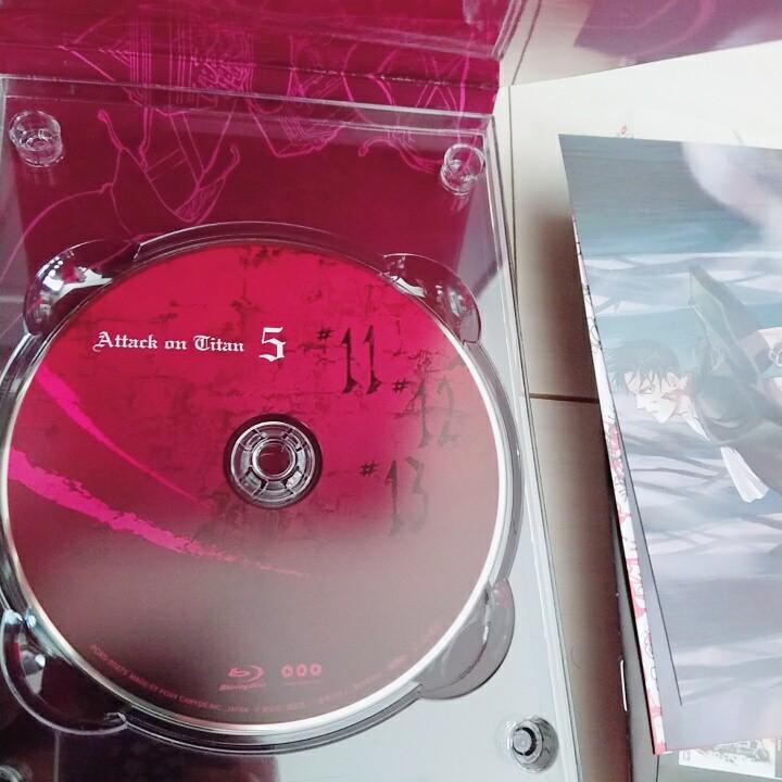 進撃の巨人 DVD 5巻