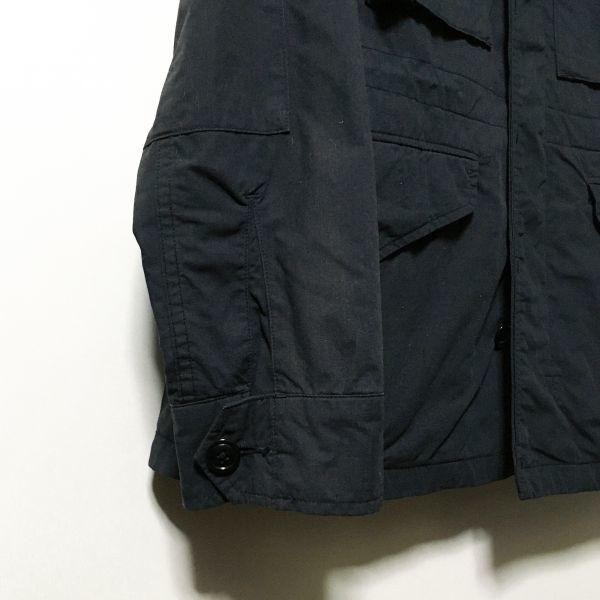 #UNITED ARROWS|ユナイテッドアローズ 50/50クロスM-43フィールドジャケット ブラックカラー sizeS