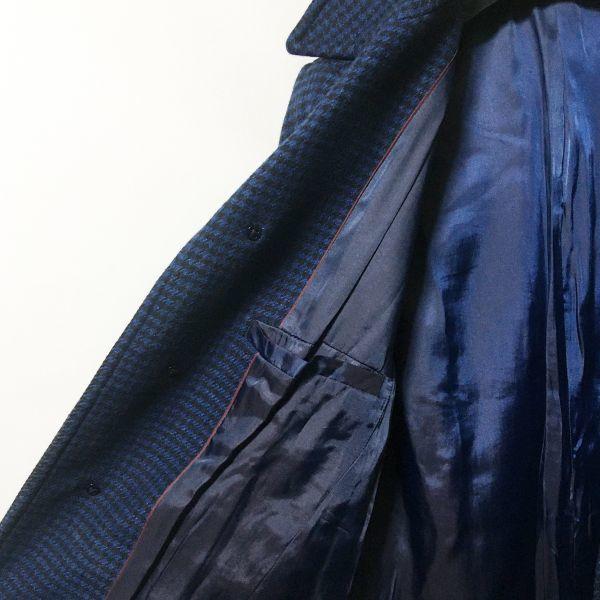 #UNITED ARROWS|ユナイテッドアローズ スーパー100'Sメリノウールバルカーマンコート/チェスターコート ネイビーカラー sizeXS(S程度)