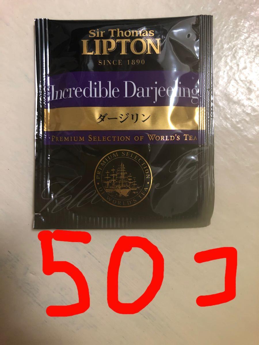 リプトン  ダージリン  紅茶 ティーパック