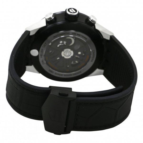 タグ・ホイヤー TAG HEUER カレラ キャリバー ホイヤー02T トゥールビヨン CAR5A8Y.FC6377 グレー文字盤 中古 腕時計 メンズ_画像5