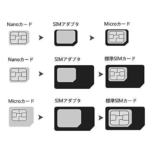 Xg2184e 〇▲A FL黒 カードカッターG-BJAerb SIMカードカッター シムカッター microsim nanos_画像7
