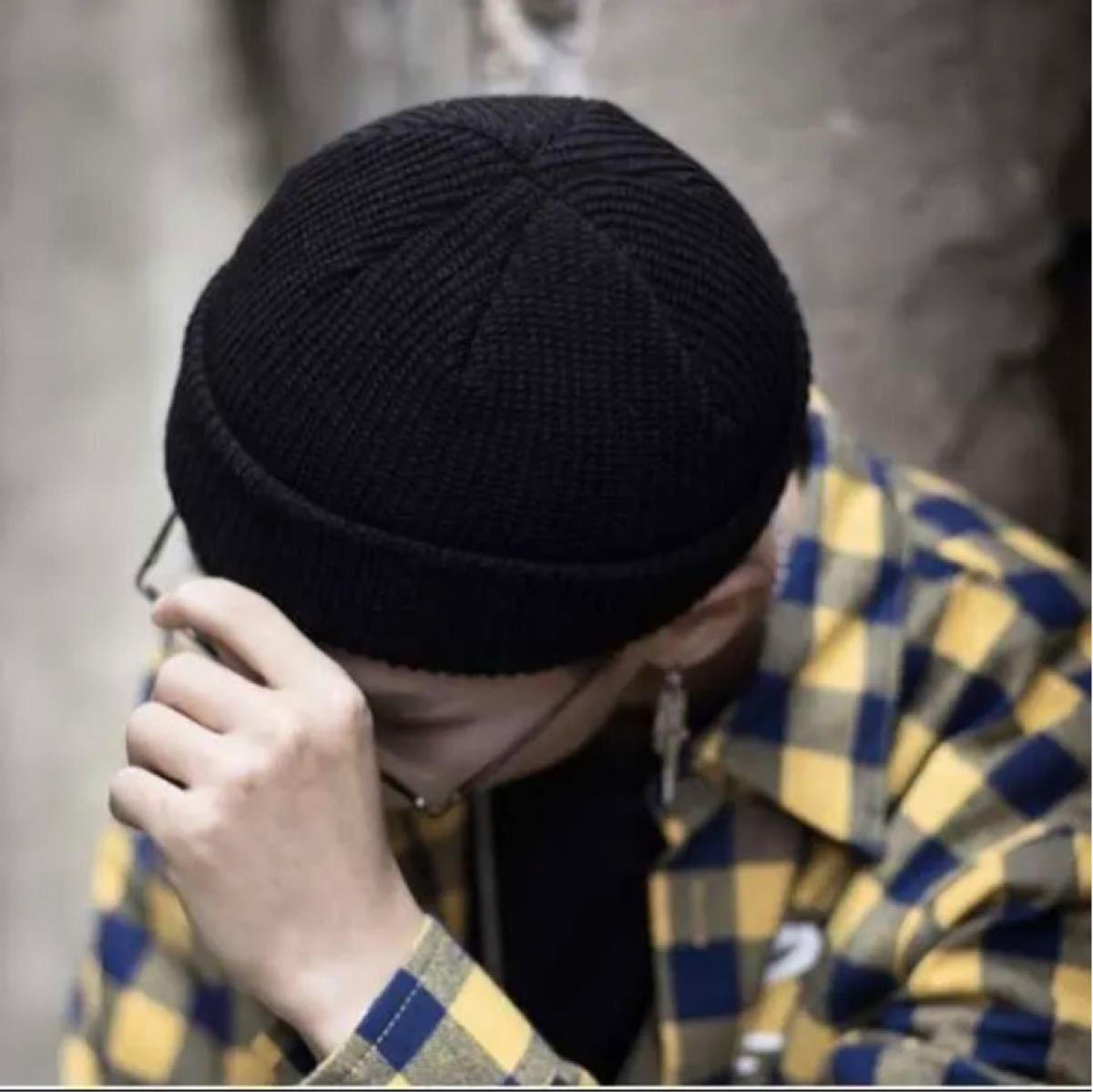 ニットキャップ ニット帽 ビーニー ワッチキャップ 男女兼用