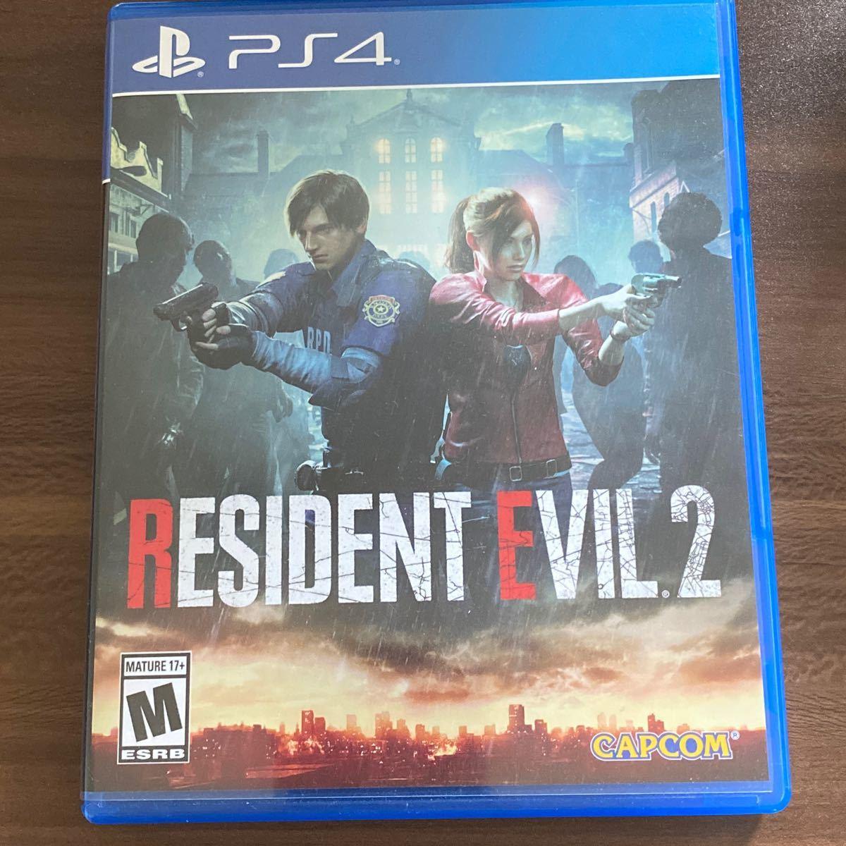 PS4 北米版 RESIDENT EVIL バイオハザードRE:2 PS4ソフト バイオハザードRE2 BIOHAZARD