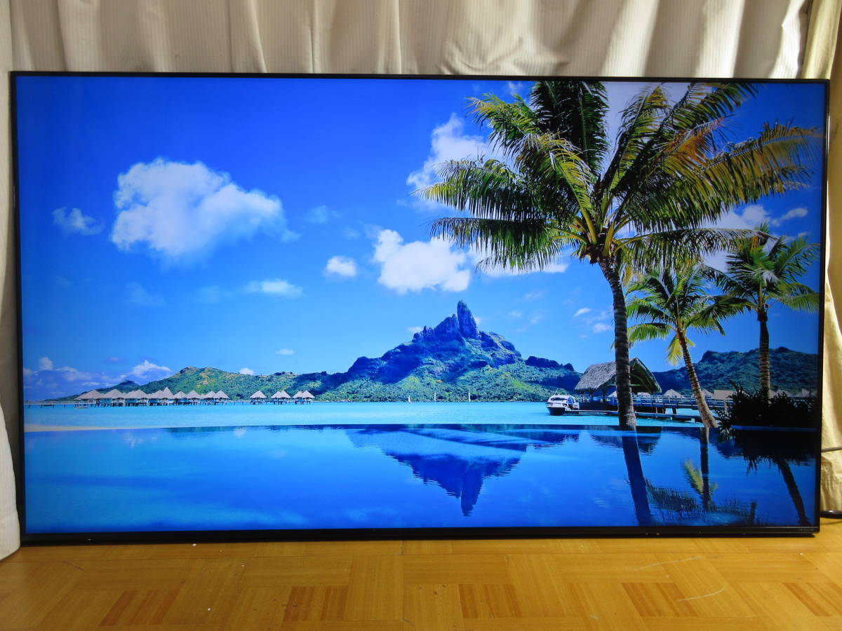 LG エルジー 75NANO91JNA [75インチ] 2020年6月発売品の超美品の展示品 1年保証 4Kチューナーを搭載した4K液晶テレビOI_画像2