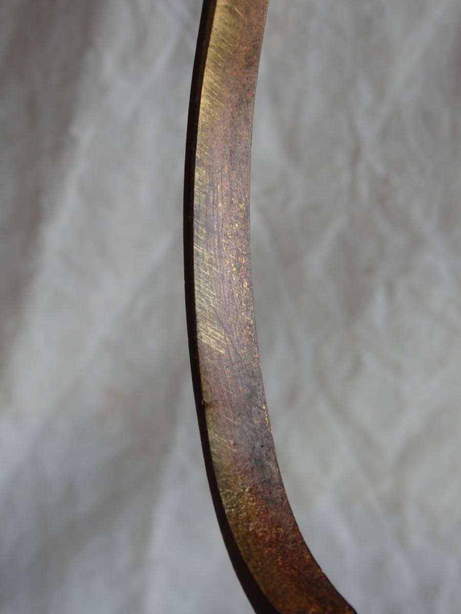 フランスアンティーク カーテンフック カーテンホルダー ブロンズ 青銅 蚤の市 ブロカント レリーフ オルモル 1880年 19世紀_画像7