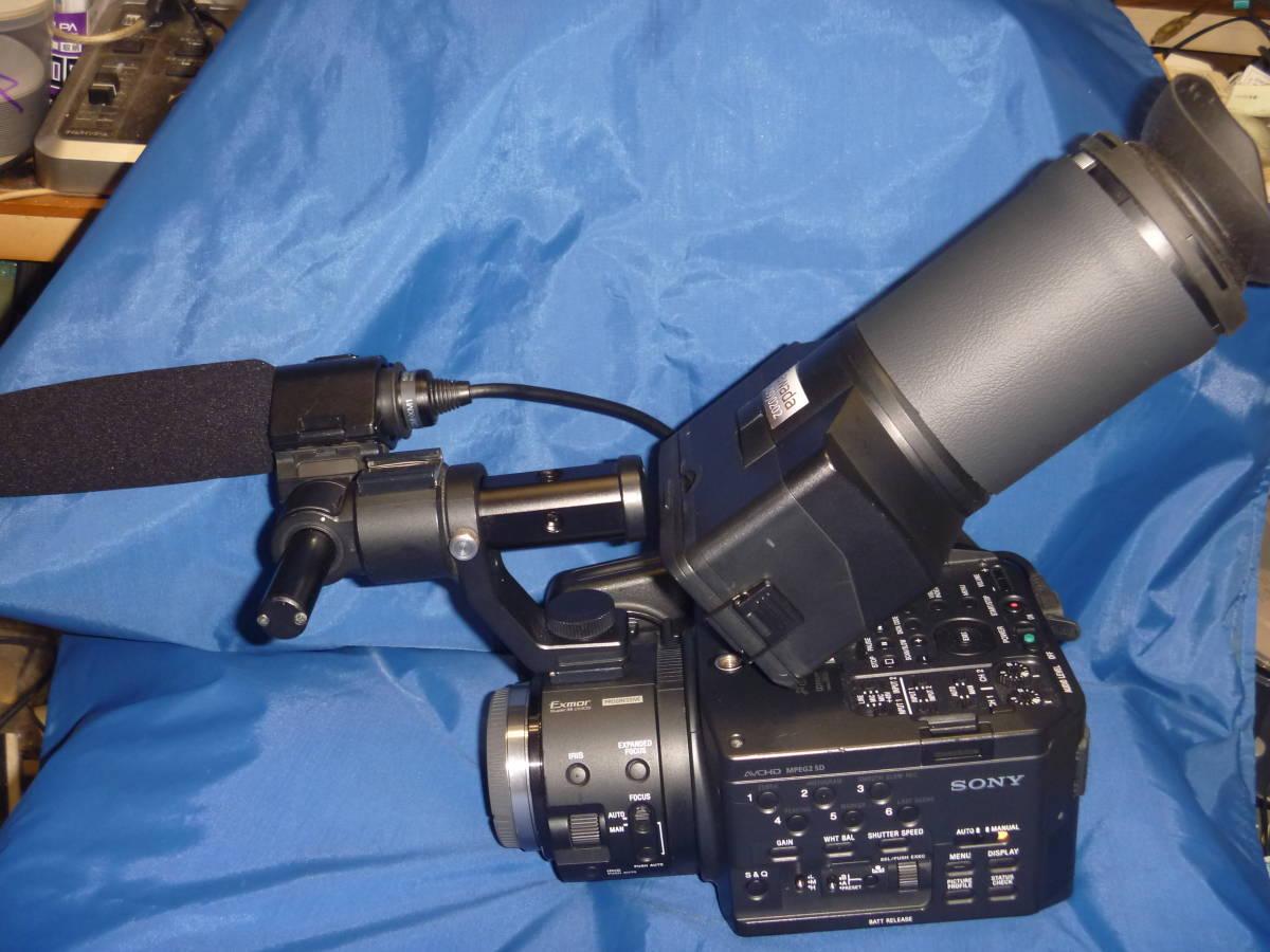 24日終了 信州発 SONY NXCAMカムコーダー NEX-FS100J 中古美品