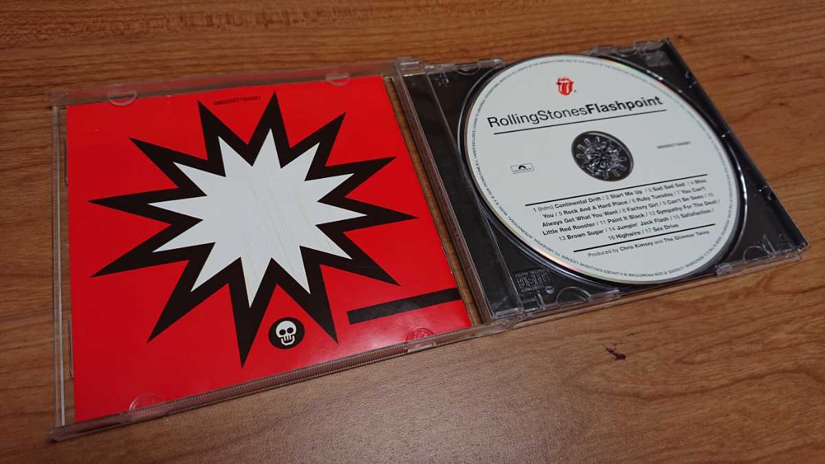 The Rolling Stones / ザ・ローリング・ストーンズ Flashpoint 輸入盤 2009リマスター盤