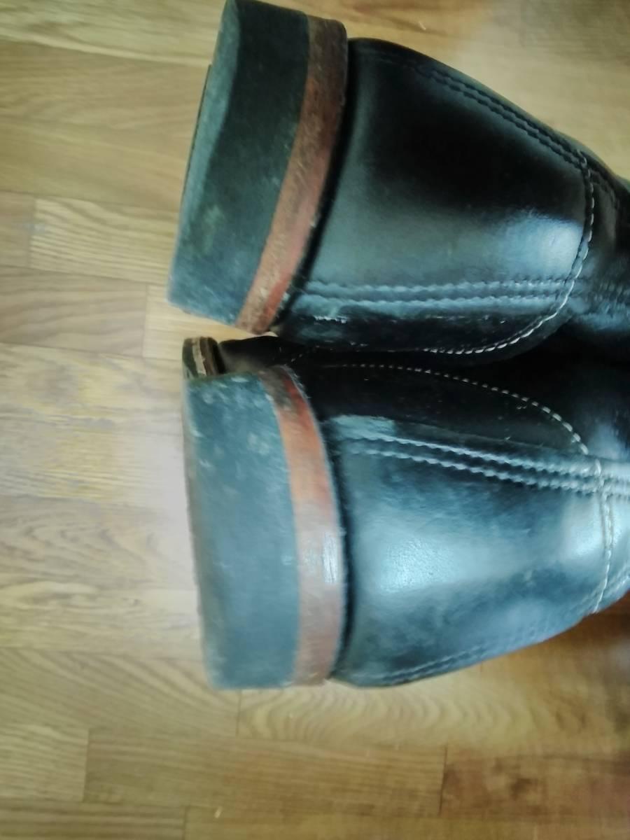 REDWING レッドウイング 9014 ベックマン 9.5D ブラック  8268226881658875 ブーツ_画像9