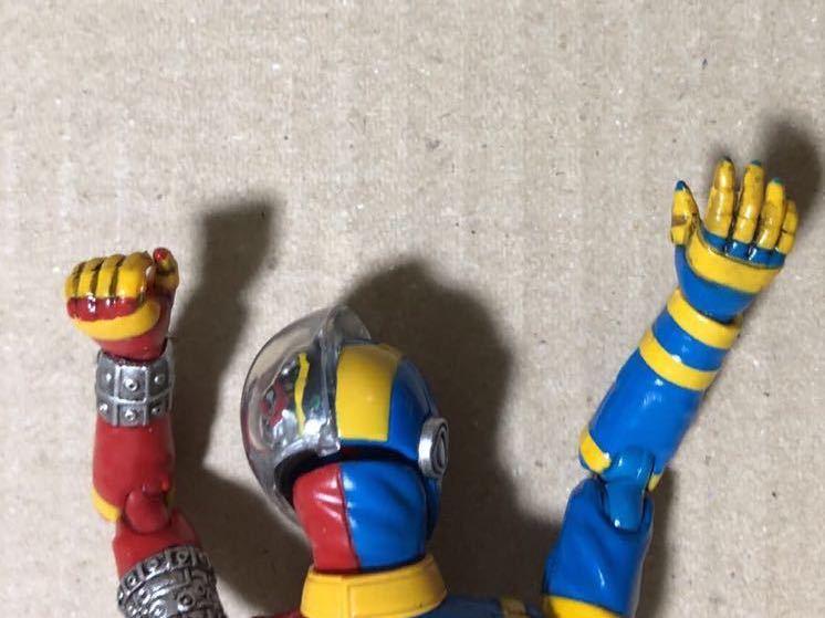一部リペイント S.H.Figuarts キカイダー&サイドマシーンのセット フィギュアーツ _画像3