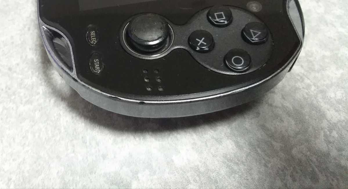 即決 中古 PlayStation Vita SONY PSVITA 3.18 3.60以下 ブラック PCH-1100 ソニー  画面ヤケあり