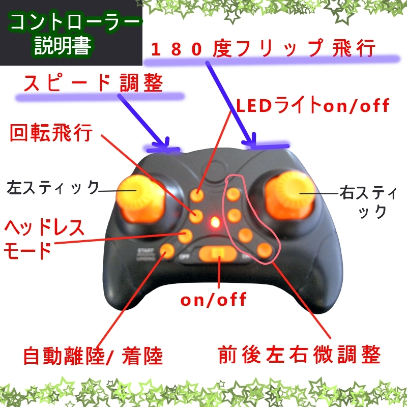 RSプロダクト 【超簡単】UFO ドローン 障害物センサーで安心 知育玩具 子供用 プレゼント 小型 日本語説明書付 200g以下 おもちゃ 子ども