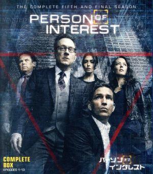 パーソン・オブ・インタレスト<ファイナル>コンプリート・セット(Blu-ray Disc)_画像1