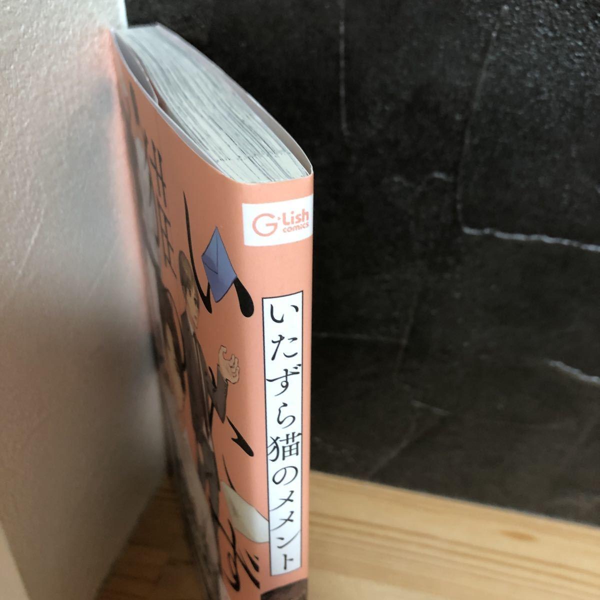 いたずら猫のメメント 出樹 12月新刊 ペーパー付き BLコミック ボーイズラブ 同梱可能