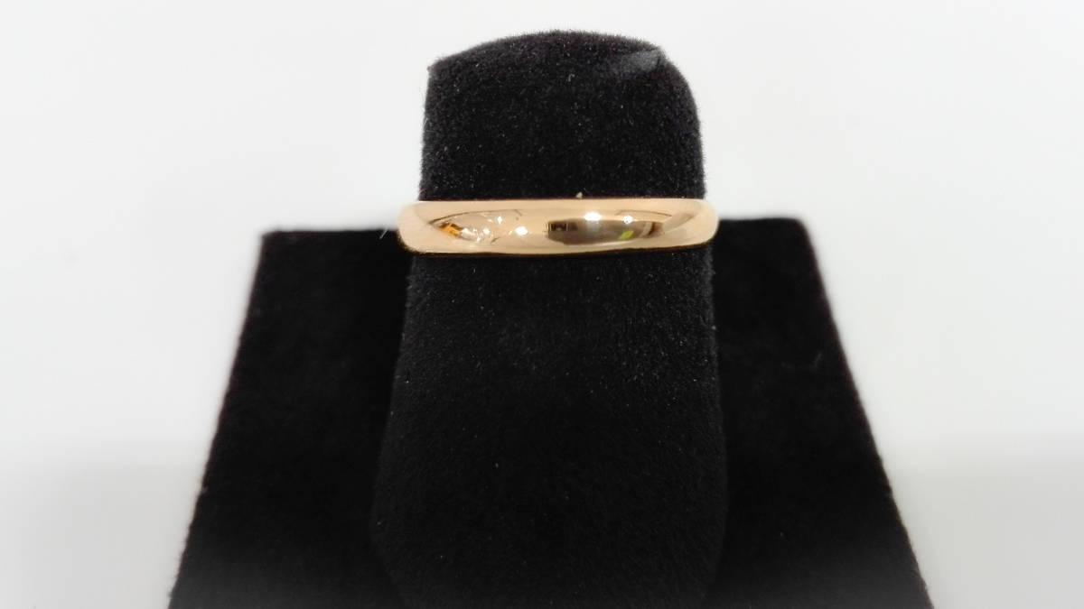K18 750 指輪 リング 10号 2.0g レディースアクセサリー 貴金属 18金_画像1