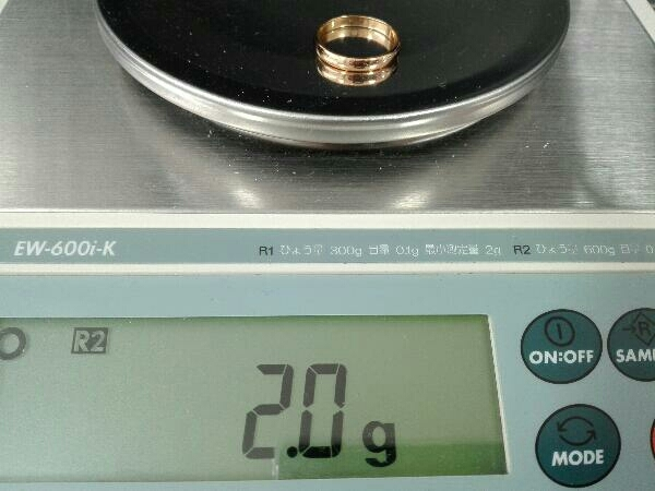 K18 750 指輪 リング 10号 2.0g レディースアクセサリー 貴金属 18金_画像5