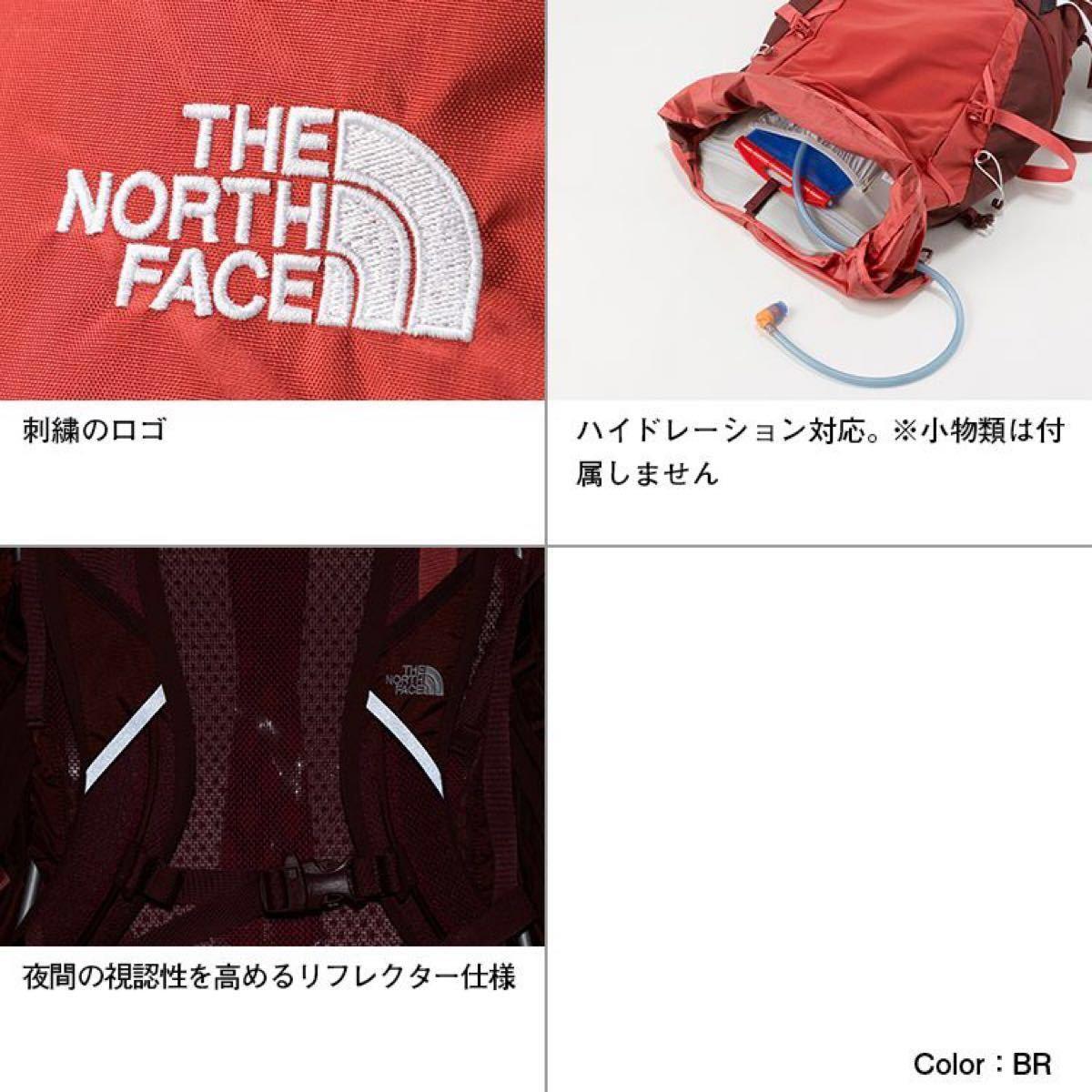 THE NORTH FACEノースフェイス リュック グリフィン75赤レディース