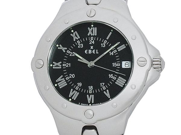 清水屋《送料無料》エベル EBEL スポーツウェーブ E9187632 クオーツ