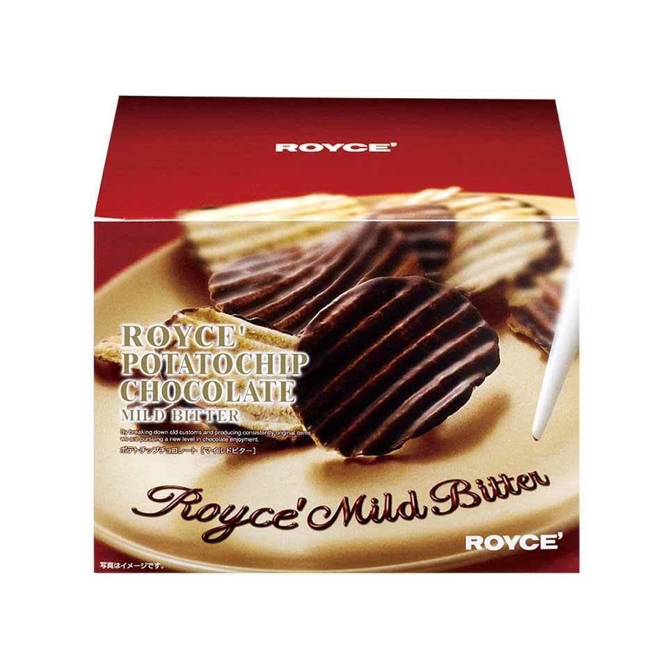 ロイズ 【北海道銘菓】 ポテトチップチョコレート [マイルドビター] 他北海道お土産多数出品中 ROYCE'_画像1