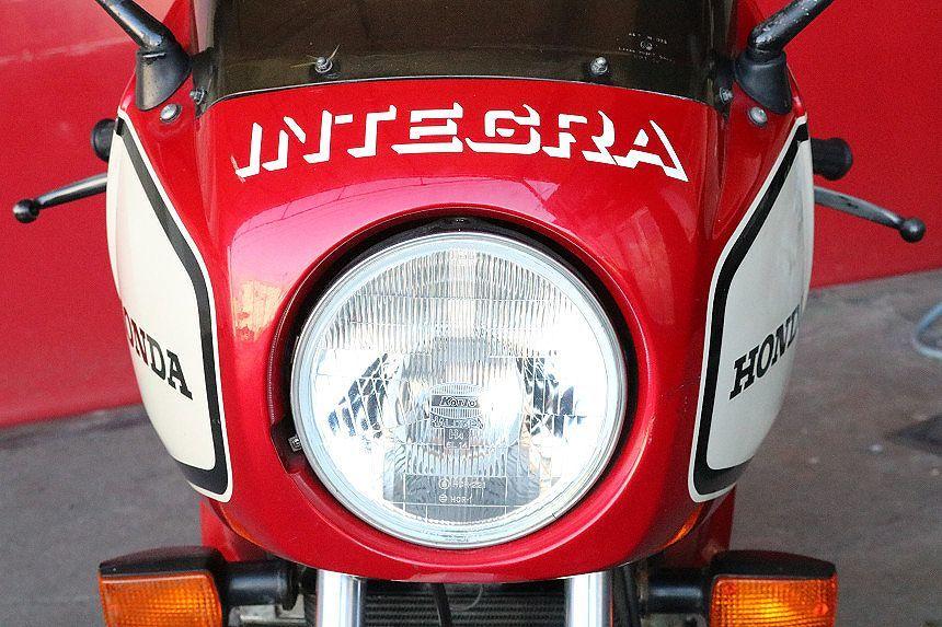 「赤白1型/CBX400F/インテグラ/フルノーマル/希少車/フルコーション/塗り替え無し/オリジナルペイント/マッチングナンバー/純正当時物/絶好調」の画像3