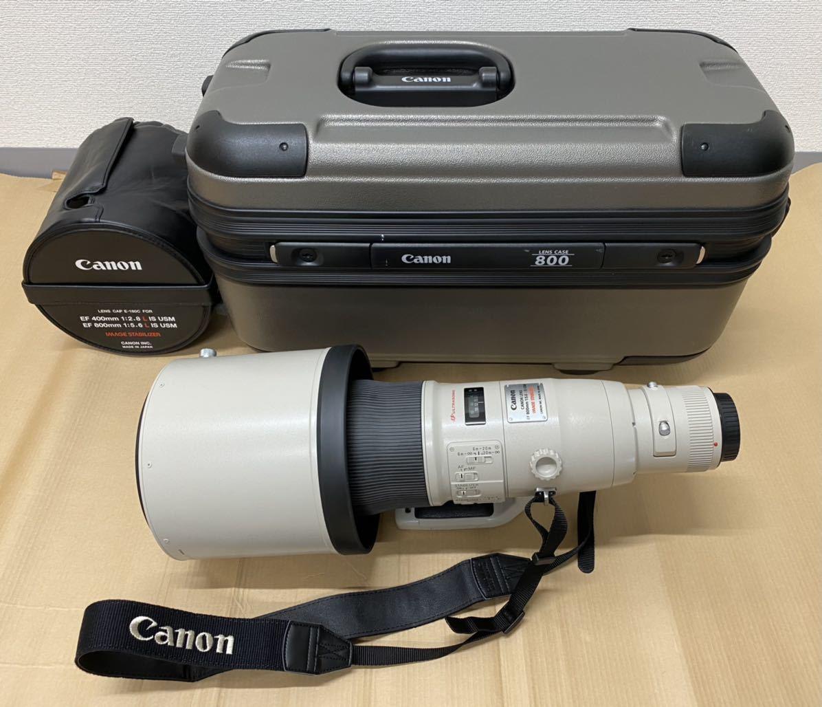 [美品] Canon キャノン ET-155 EF 800mm 1:5.6 L IS USM IMAGE STABILIZER ULTRASONIC 11