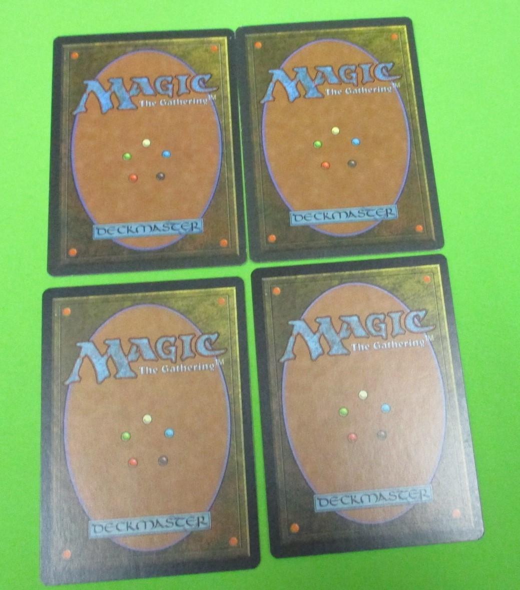 激レア!MTG  4版 5版 4枚セット ティタニアの歌 英語版3枚 日本語1枚【未使用】マジックザギャザリング_画像2