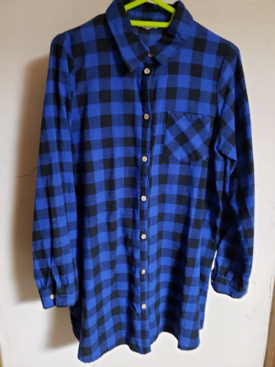 長袖シャツ  チェックシャツ  チェック柄  ネルシャツ