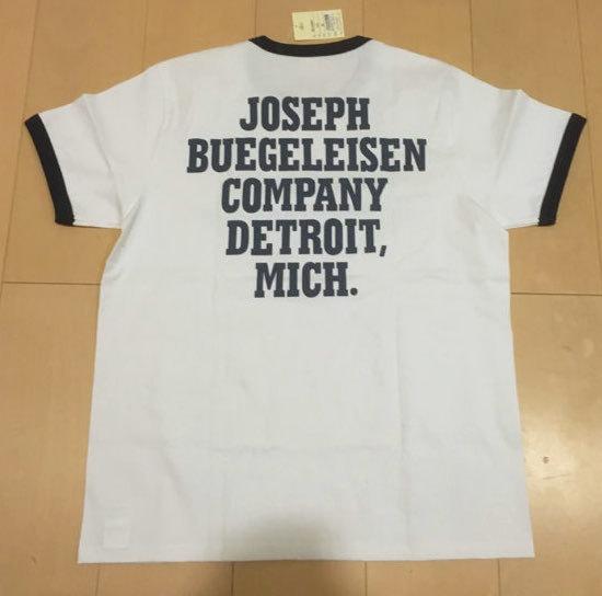 リアルマッコイズ/BUCO/リンガー半袖Tシャツ/フライングホイール/REAL McCOY'S/美品_画像3