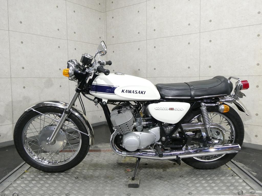 「【29194】500SS MACHⅢ♪国内71年モデルのH1A!伝説の2stトリプル♪【動画あり】」の画像1
