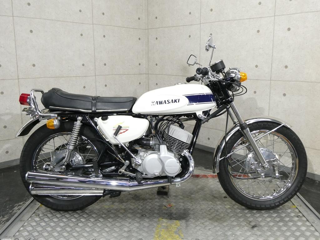 「【29194】500SS MACHⅢ♪国内71年モデルのH1A!伝説の2stトリプル♪【動画あり】」の画像2