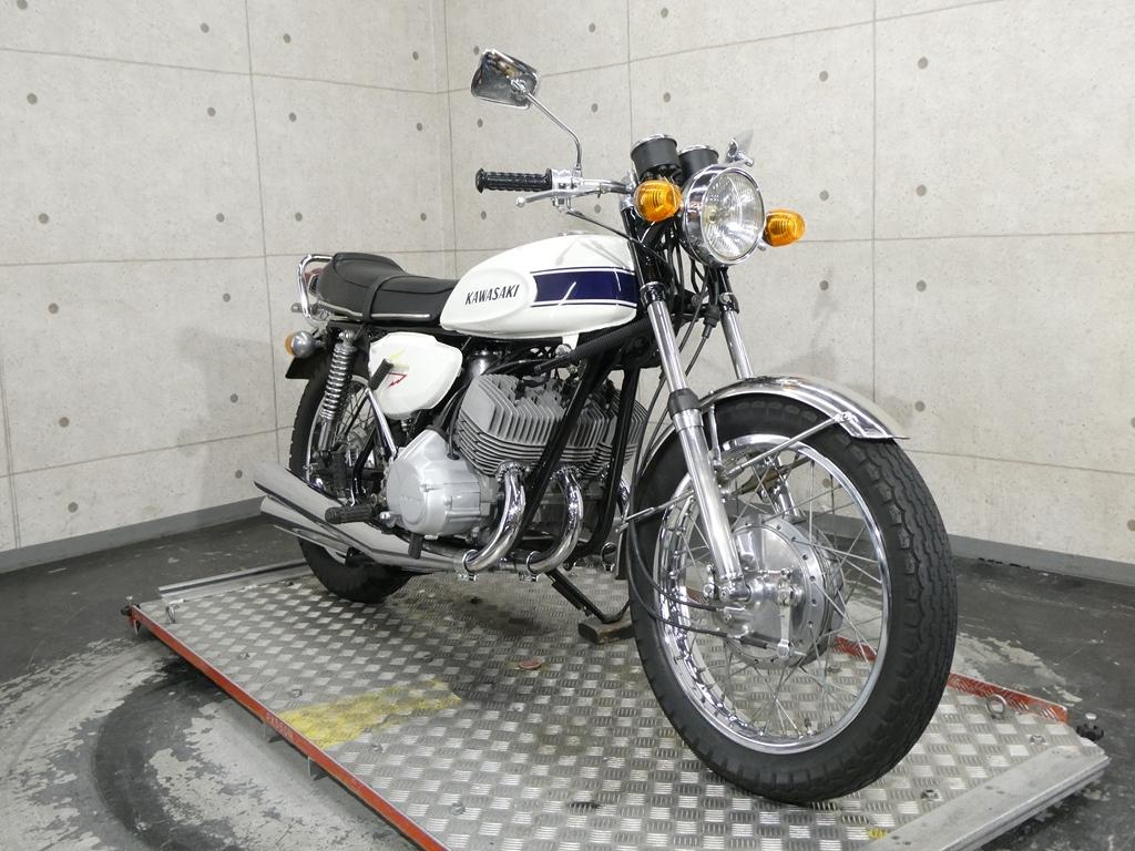 「【29194】500SS MACHⅢ♪国内71年モデルのH1A!伝説の2stトリプル♪【動画あり】」の画像3