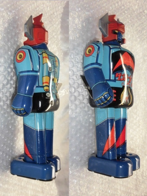 即決 放送当時物 ポピー 惑星ロボ ダンガードA ゼンマイ 歩行 ブリキ ロボット ポピー ポピニカ 超合金_画像4