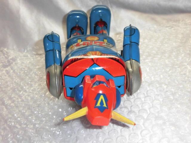 即決 放送当時物 ポピー 超電磁ロボ コンバトラーV ゼンマイ 歩行 ブリキ ロボット ポピー ポピニカ 超合金_画像5