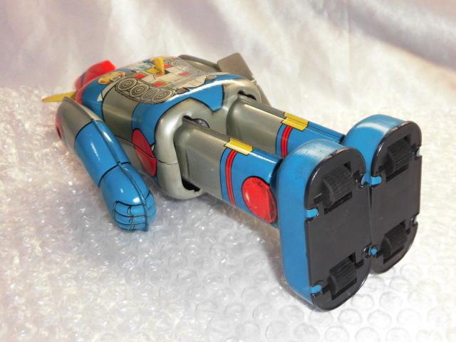 即決 放送当時物 ポピー 超電磁ロボ コンバトラーV ゼンマイ 歩行 ブリキ ロボット ポピー ポピニカ 超合金_画像8