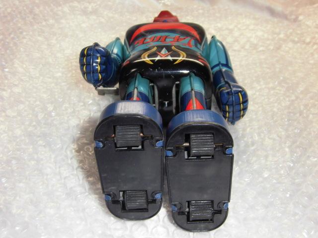 即決 放送当時物 ポピー 惑星ロボ ダンガードA ゼンマイ 歩行 ブリキ ロボット ポピー ポピニカ 超合金_画像9
