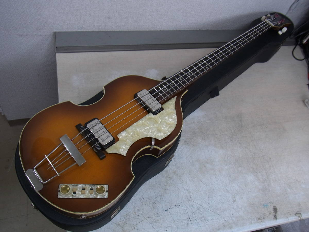 「Hofner ヴァイオリンベース Hofner 500/1 VINTAGE '63 (ヘフナー エレキベース)」の画像
