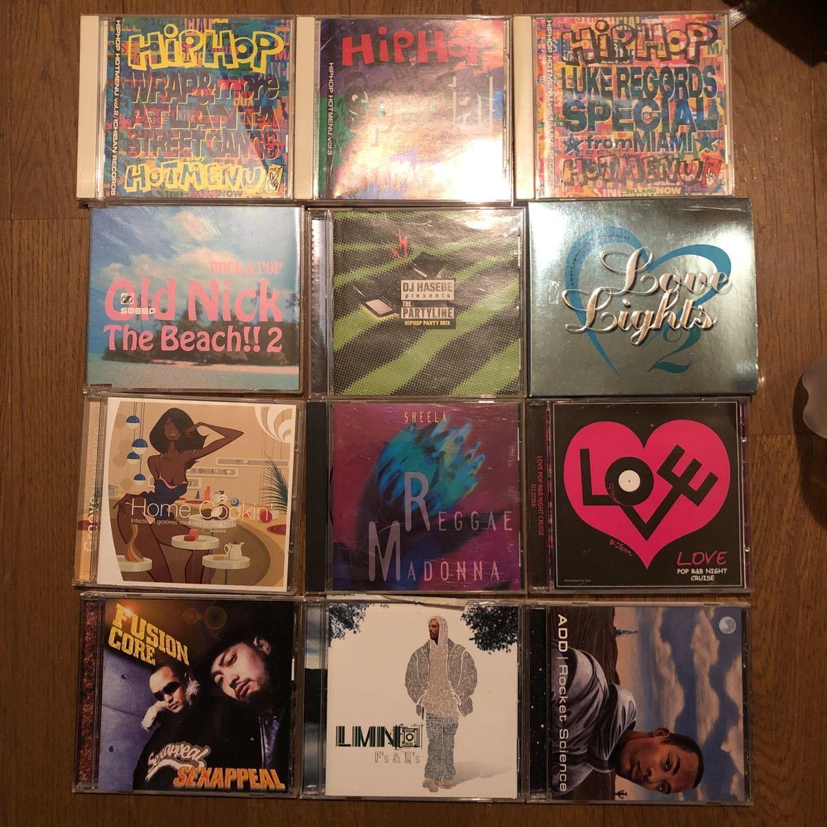【検品済】アングラ クラシック hip hop R&B SOUL まとめ売り ヒップホップ dj Hasebe アールアンドビー ソウル cd